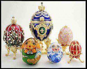 Великолепная выставка яиц Фаберже в Турине