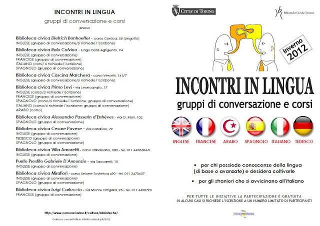 Курсы итальянского языка в Турине бесплатно