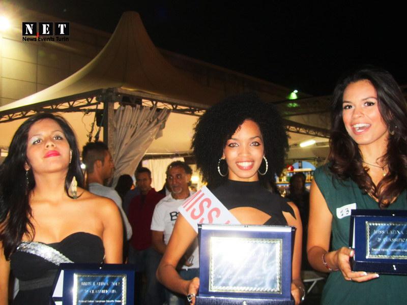 Miss Latina Torino 2012 tre vincitrice Латиноамериканский фестиваль в Турине