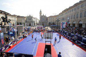Спорт Турин Баскетбол площадь Сан Карло