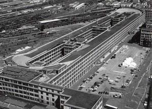 Старый Линготто Турин фабрика ФИАТ фото