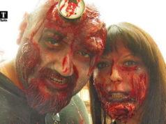 Зомби парад в Европе Турине