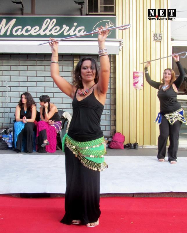 Danza egiziana a Torino