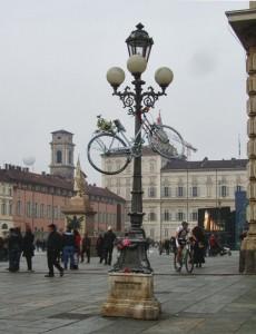 Велосипеды призраки в Турине