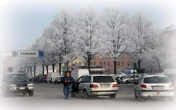 Турин зимой январь
