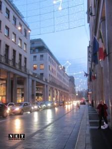 Красавец вечерний Турин