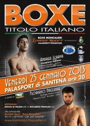 Итальянский бокс в Турине.