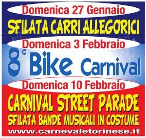 Карнавал Турин Италия Пьемонт 2013