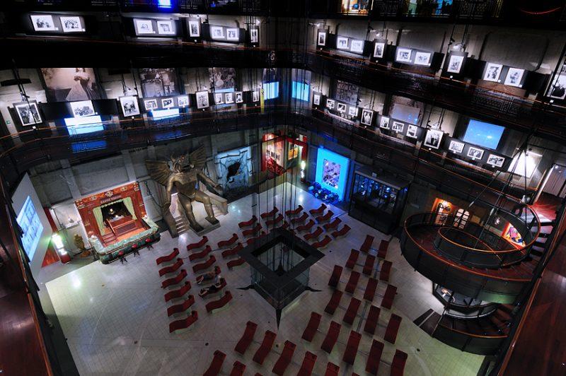 Музей кино в Турине. Музей кинематографии.