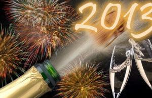 Новый 2013 год в Турине. Новый год Турин встречает на Piazza San Carlo