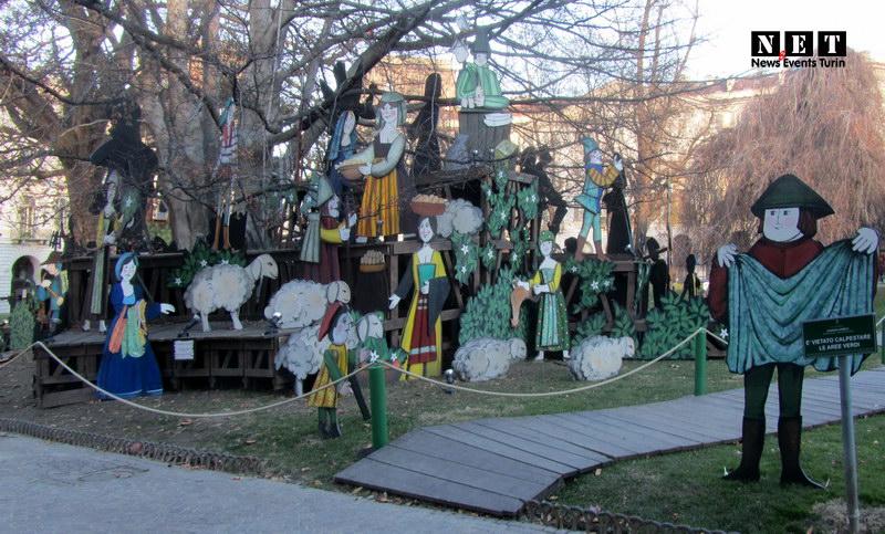 Презепе Турин рождественские инсталляции в Италии