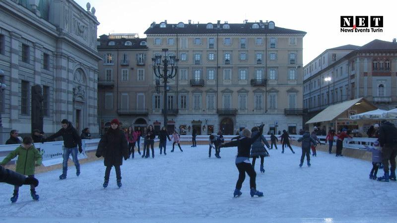 Ледовый каток в Турине