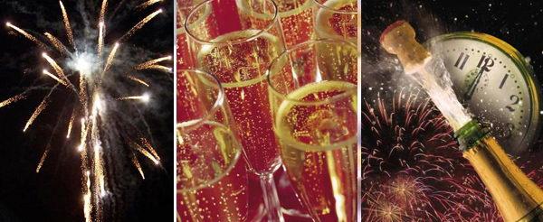 Празднование Нового года в Турине Италия