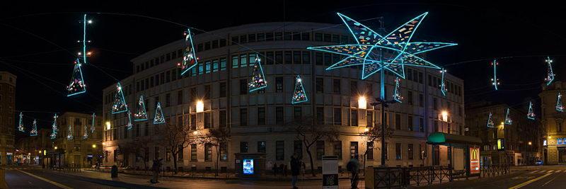 Рождественские мероприятия в Турине - Рождество Турин Италия.