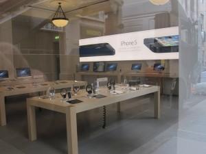 Ограблен магазин Apple в Турине.