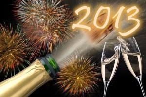 Новый год в Турине 2013