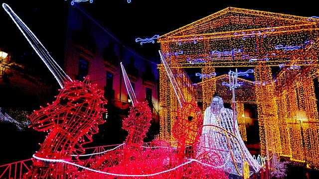 Рождественские мероприятия в Турине