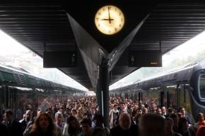 Мондови Пьемонт протест против нового расписания железной дороги