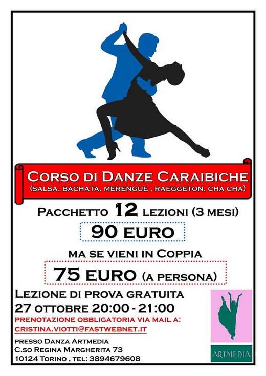 Карибские танцы в Турине запишись на курсы