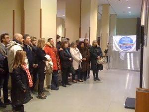 Берлускони в Турине 2013 Конгресс центр Линготто
