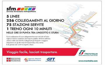 Метро и железная дорога Италия турин