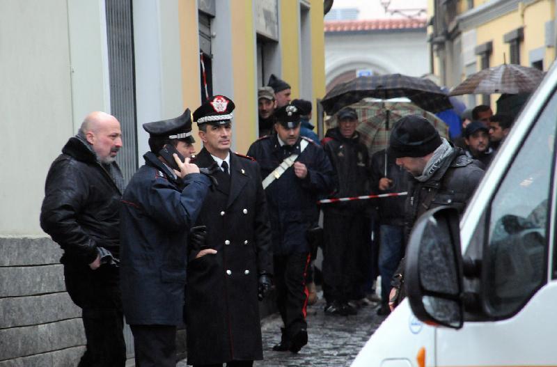 Ограбление итальянского почтового отделения в турине