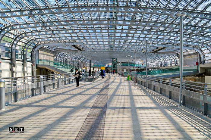 Новый железнодорожный вокзал Турина