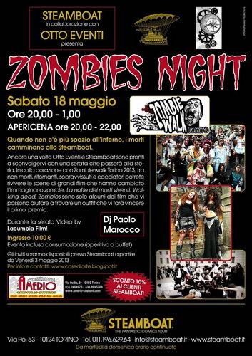По улицам Турина ходят зомби