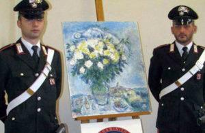 В Турине обнаружена картина Марка Шагала