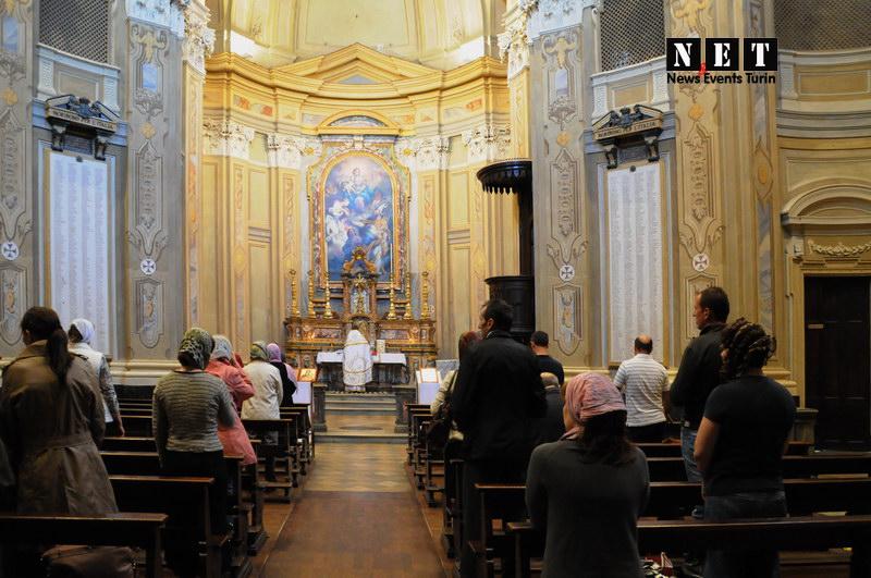 Молдавская церковь в Турине и отец Павел на службе