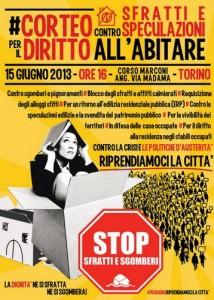 За права на жилье в Турине