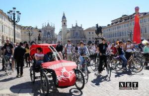 Велопарад в Турине Велопарад в Италии