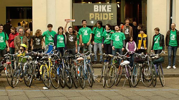 Вело парад Турин 26 мая 2013