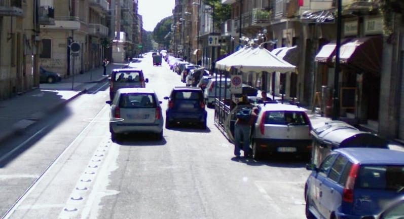 Via Chiesa della Salute Torino pedonale