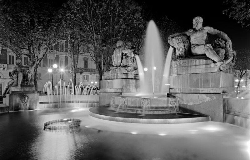 Ангельский фонтан Турина