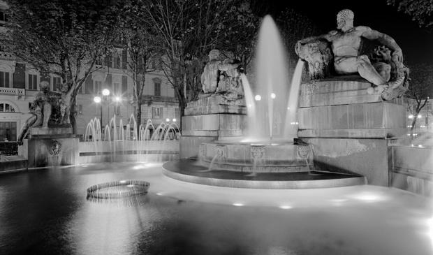 Ангельский фонтан Турин