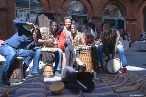 Сенегальцы в Турине