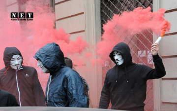 Турин – Марш против выселения и спекуляций, за право на жилье.