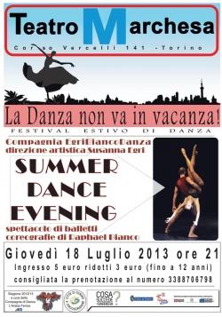 Летний фестиваль в Турине