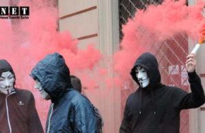 Италия выселение из жилья и спекуляции, марш в Турине за право на жилье.