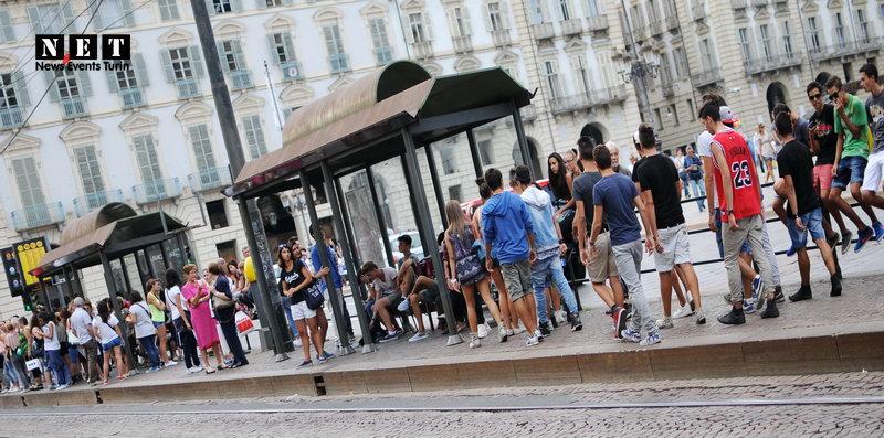 Сколько ждать автобус в Турине