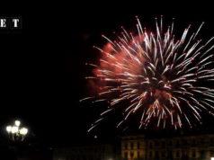 Турин день города 2013 Замечательный салют фото и видео