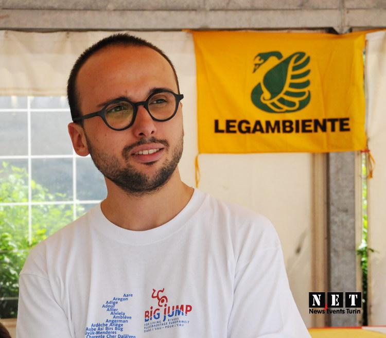 Foto Legambiente direttore Torino Federico Vozza