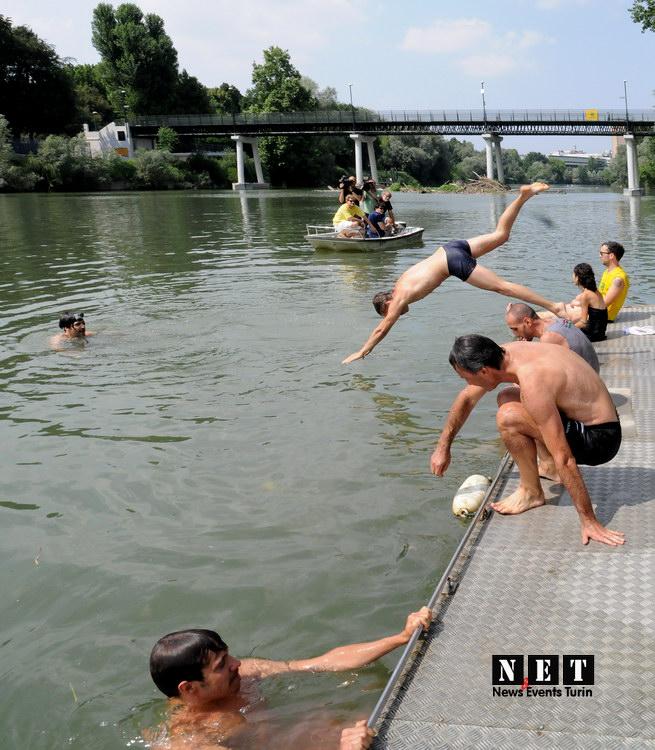Torino ecologico salva fiume Po