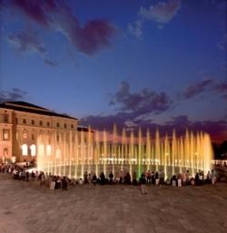 Необычные фонтаны Турина