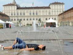 Жара в Турине Италия