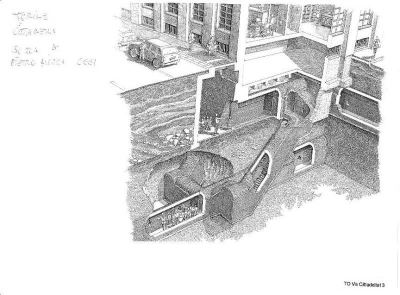 Подземные коммуникации Турина