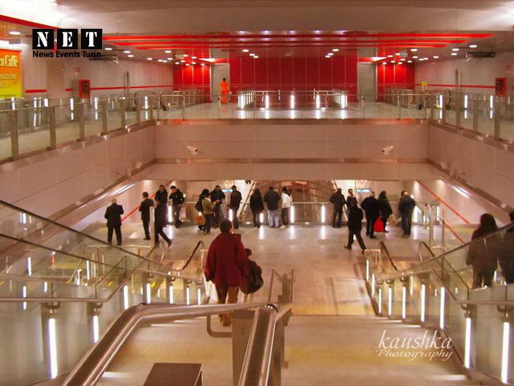 Metropolitana Torino Метро Турин