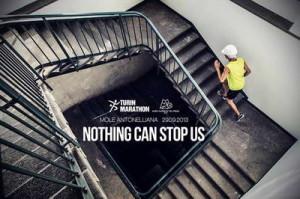 Бег по лестнице в Моле Антонеллиана