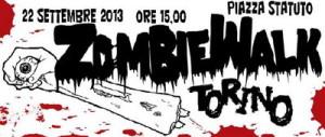 Парад Зомби в Турине Италия